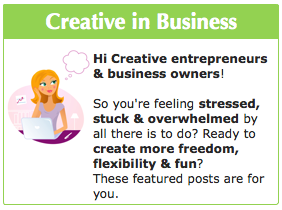 Featured Posts for Creative entrepreneurs & Creatives in Business