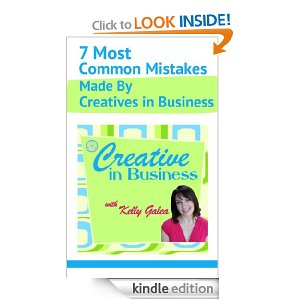 As Found on Amazon -- Creative in Business: 7 Most Common Mistakes Made By Creatives in Business