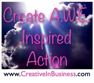 Create A.W.E. Inspired Action