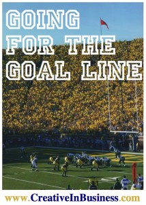 Going for the Goal Line