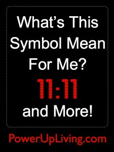 What's This Symbol Mean For Me? 11:11 and More!
