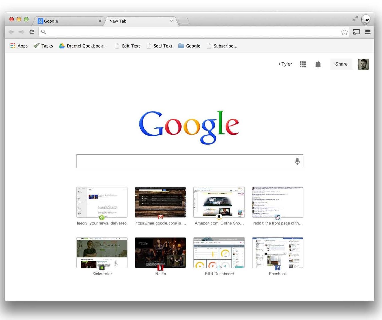 3 google homepage