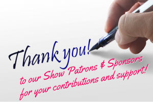 Thanks to Patrons & Sponsors