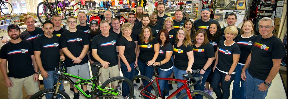 Orange Cycle team