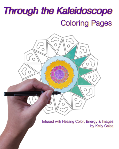 Through the Kaleidoscope Coloring Pages