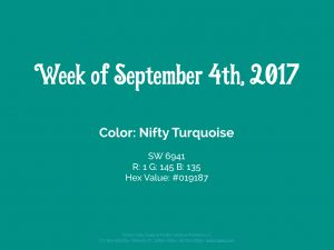 Color of the Week - September 4th 2017