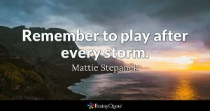 Quote on Play - Mattie Stepanek