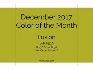 Color of the Month - December 2017