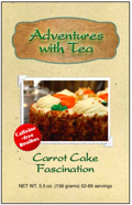 Kaleidoscope of T.E.A. from Adventures with Tea - Carrot Cake Fascination