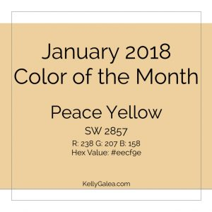 Color of the Month - January 2018