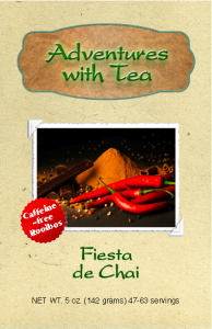 Adventures with Tea - Fiesta de Chai