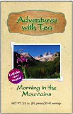 Kaleidoscope of T.E.A. from Adventures with Tea - Morning in the Mountains