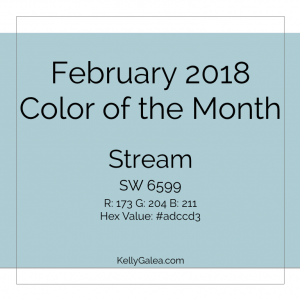 Color of the Month - February 2018