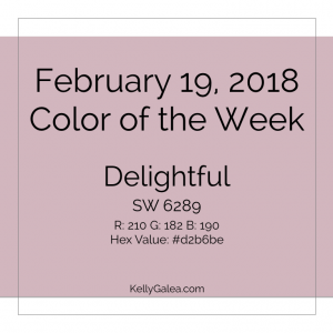 Color of the Week - February 19 2018
