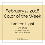 Color of the Week - February 5 2018