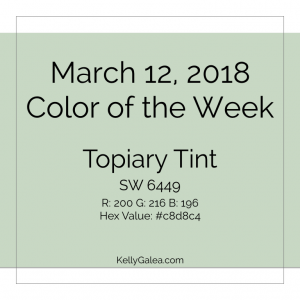 Color of the Week - March 12 2018