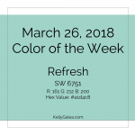 Color of the Week - March 26 2018