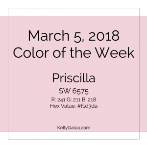 Color of the Week - March 5 2018