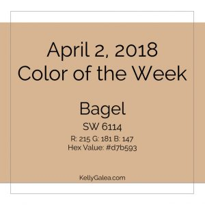 Color of the Week - April 2 2018