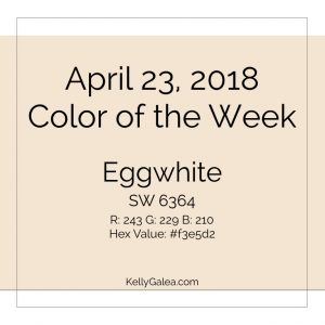 Color of the Week - April 23 2018