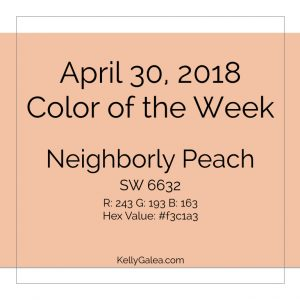 Color of the Week - April 30 2018