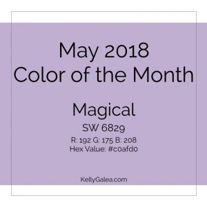 Color of the Month - May 2018