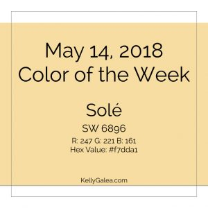 Color of the Week - May 14 2018