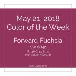 Color of the Week - May 21 2018