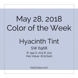 Color of the Week - May 28 2018