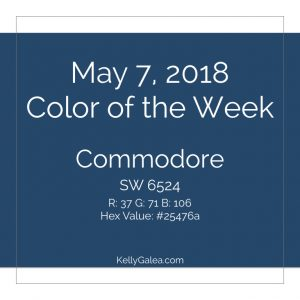 Color of the Week - May 7 2018