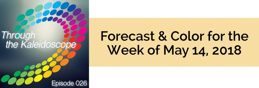 Episode 026 - Forecast & Color for the Week of May 14 2018