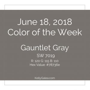 Color of the Week - June 18 2018