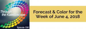 Episode 030 - Forecast & Color for the Week of June 4, 2018