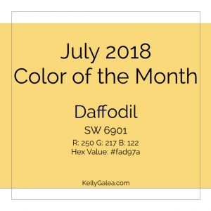 Color of the Month - July 2018