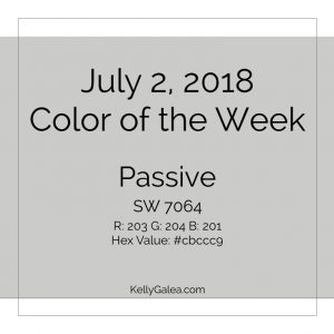 Color of the Week - July 2 2018