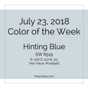 Color of the Week - July 23 2018