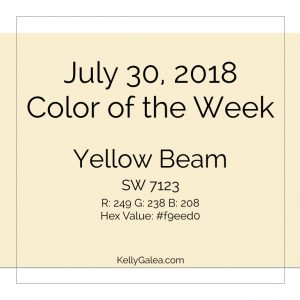 Color of the Week - July 30 2018
