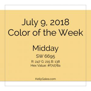 Color of the Week - July 9 2018