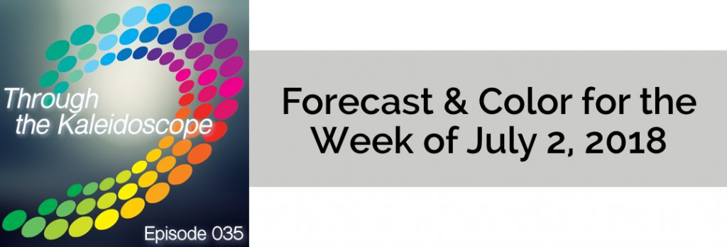 Episode 035 - Forecast & Color for the Week of July 2 2018