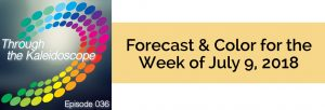 Episode 036 - Forecast & Color for the Week of July 9 2018