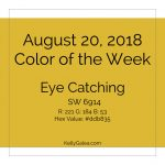 Color of the Week - August 20 2018