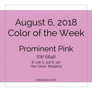 Color of the Week - August 6 2018