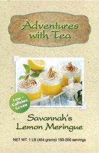 Kaleidoscope of TEA - Savannah's Lemon Meringue