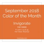Color of the Month - September 2018