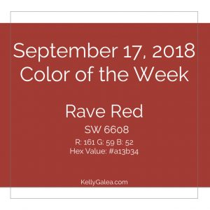 Color of the Week - September 17 2018