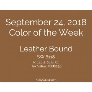Color of the Week - September 24 2018