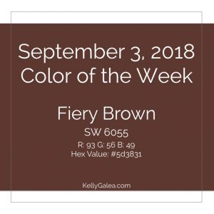 Color of the Week - September 3 2018