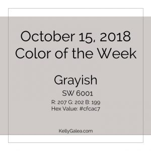 Color of the Week - October 15 2018