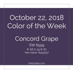 Color of the Week - October 22 2018