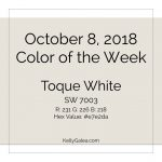 Color of the Week - October 8 2018